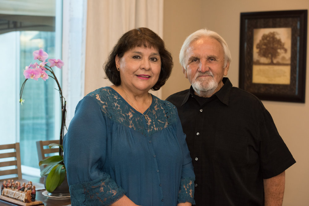 Mary and George Urquidez (Photo credit: Daniel J. Eslinger)