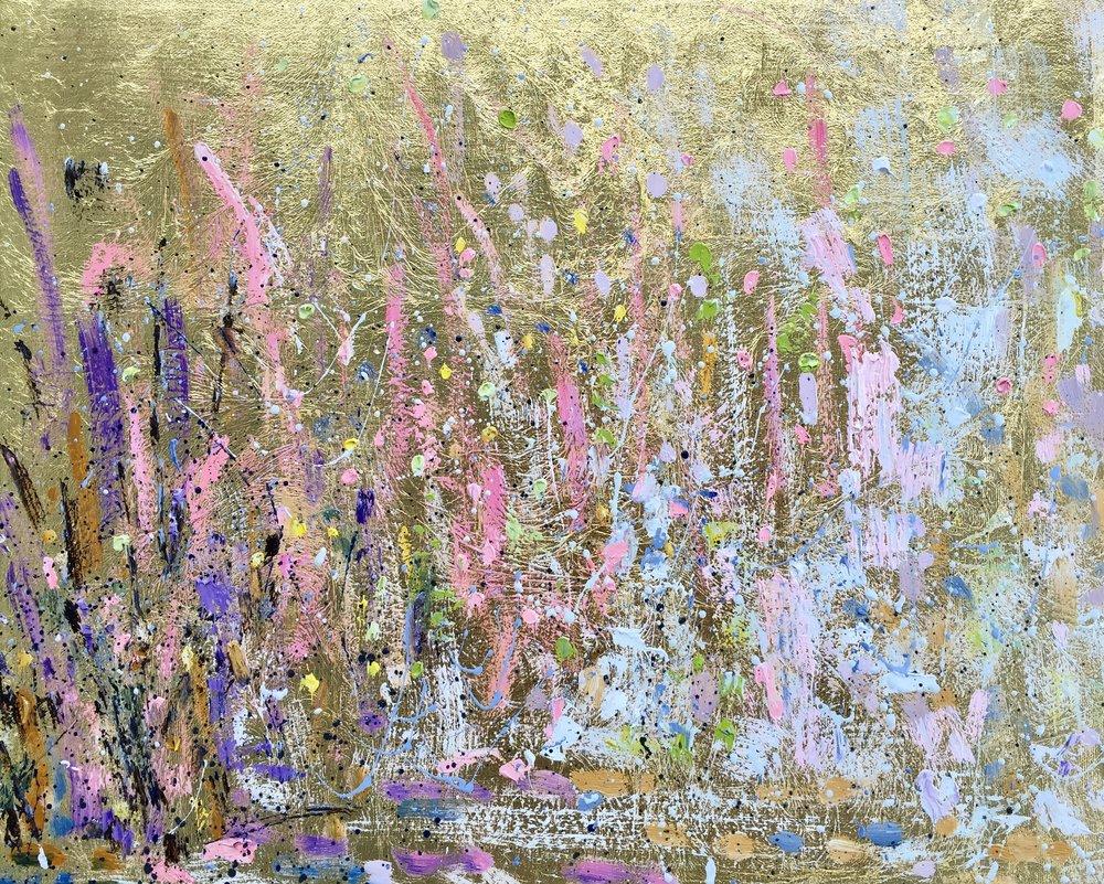 Divine Flow#16 x 20 in.