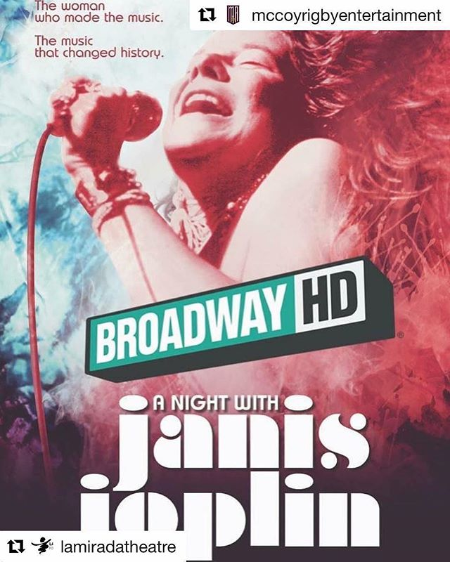 "Very exciting to be filming ""A Night with Janis Joplin"" for Broadway HD tonight and tomorrow @lamiradatheatre — Coming to a screen near you soon! #broadway #hd #livetheatre #livemusic #losangeles #california #rocknroll #classicrock #lovewhatyoudo @anightwithjanis @janisjoplin"
