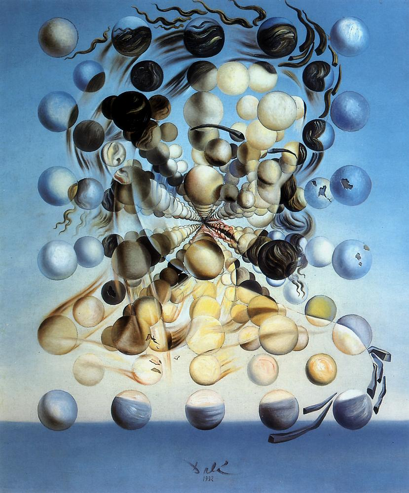 Salvador Dali_Galatea of the spheres_1952.jpg