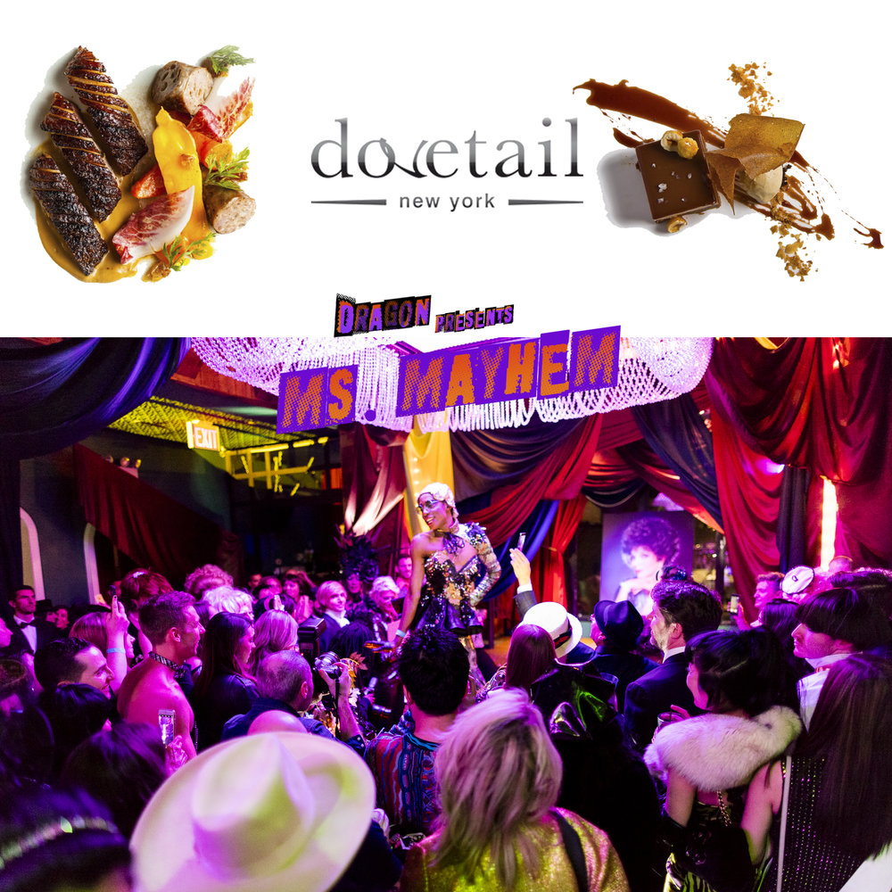 DRAG-ON & DINE AT DOVETAIL