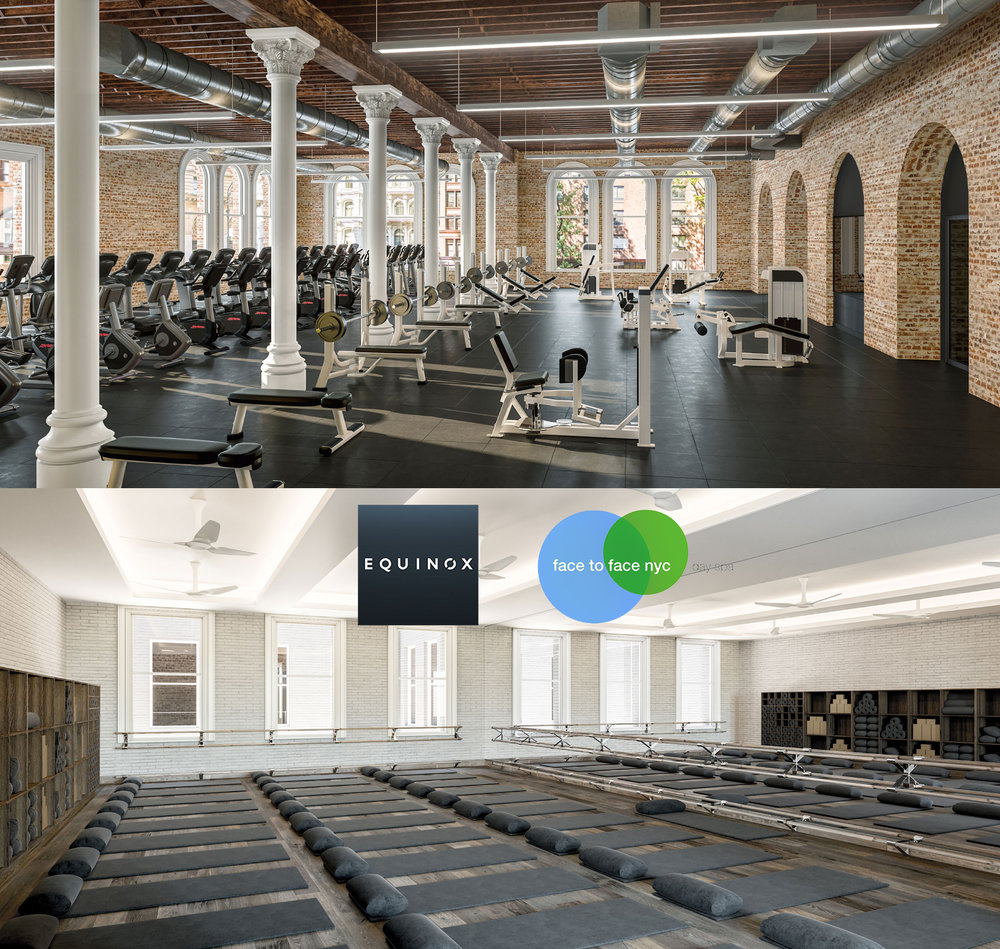 TREAT YOUR BODY: EQUINOX FITNESS & FACE TO FACE DAY SPA