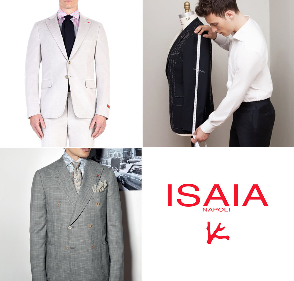 ISAIA CUSTOM SUIT OR SPORT JACKET