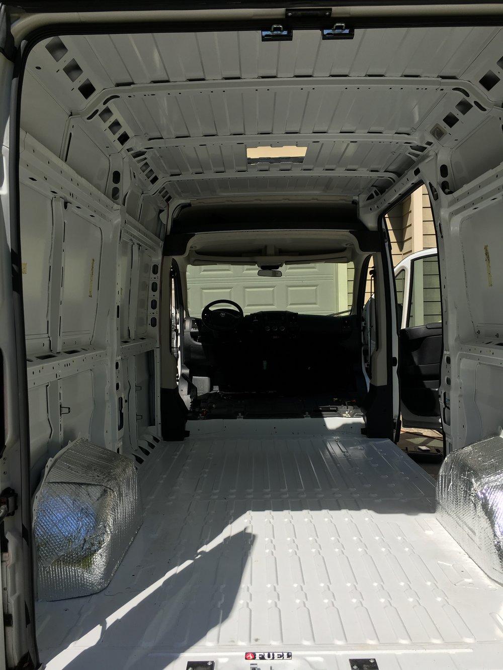 Adventure Van as a blank canvas!