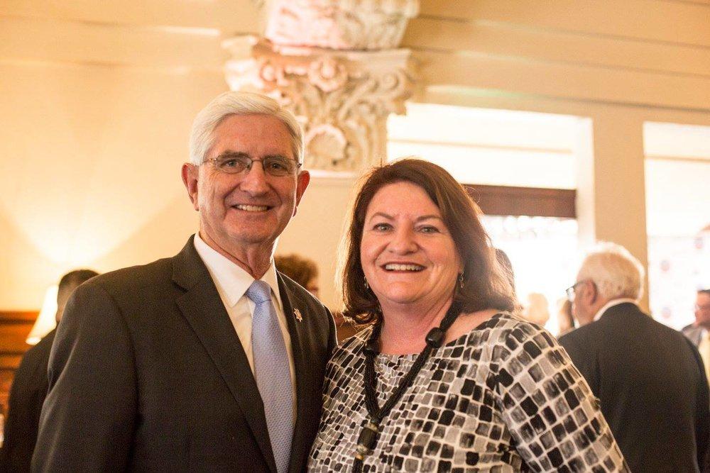 Sheriff Bill Gore & State Senator Toni Atkins