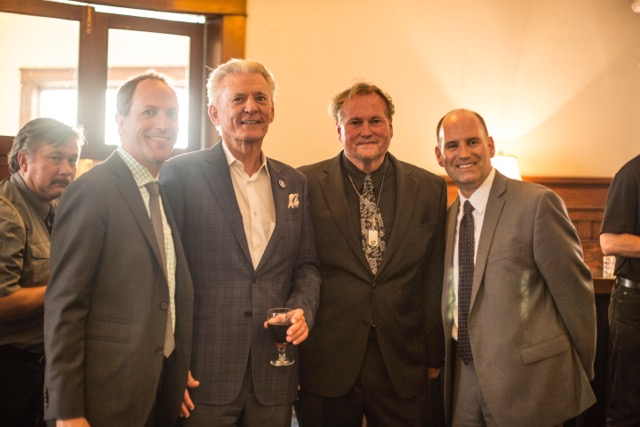 Assemblyman Brian Maienschein, Bill Lynch, Joseph Travers, and Lance Witmondt