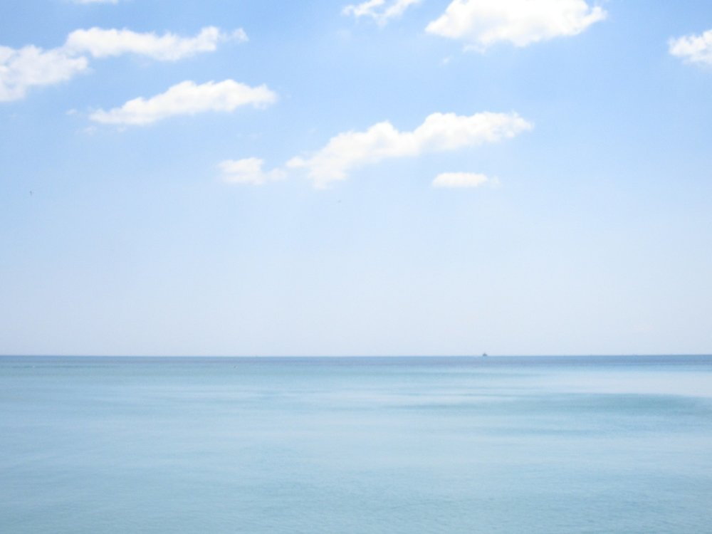 Blue, Lake Michigan