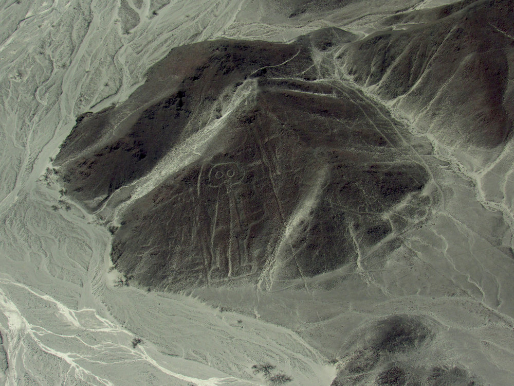 Astronaut in the Nazca Lines