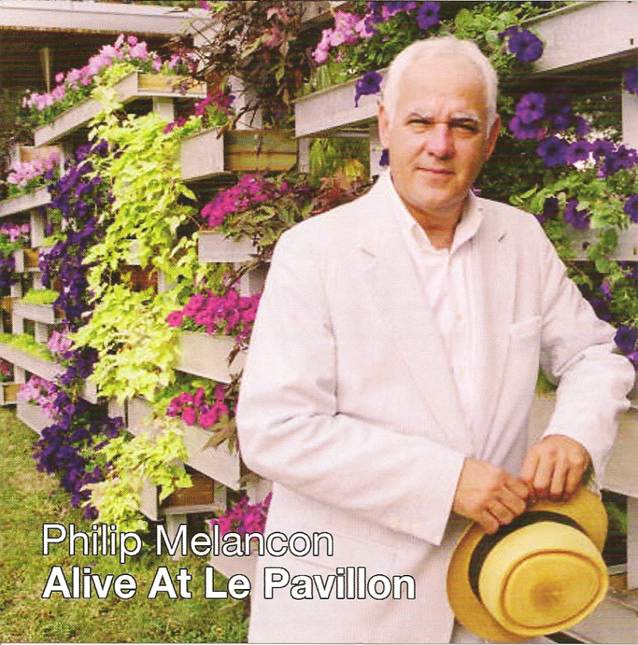 Philip Melancon - Alive at Le PavillionA fun photoshoot with Philip Melancon led to the cover and back artwork of his CD