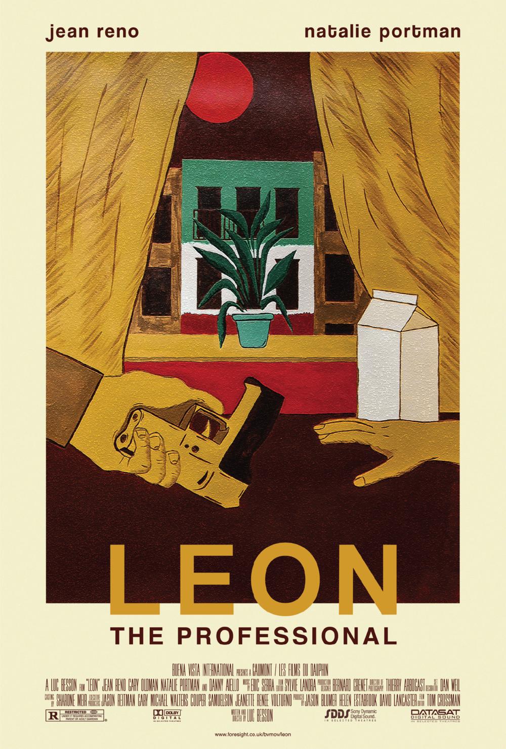 leon the professional movie poster carolynn