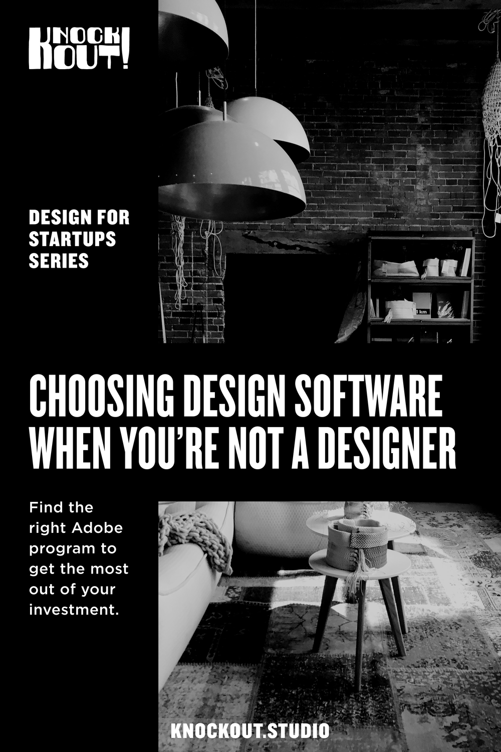 Choosing Design Software When You're Not a Designer. Find the right Adobe program to get the most out of your investment.