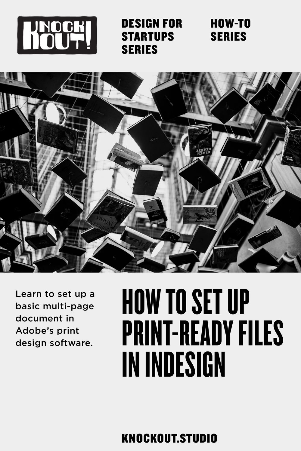 Learn to set up a basic multi-page document in Adobe InDesign.