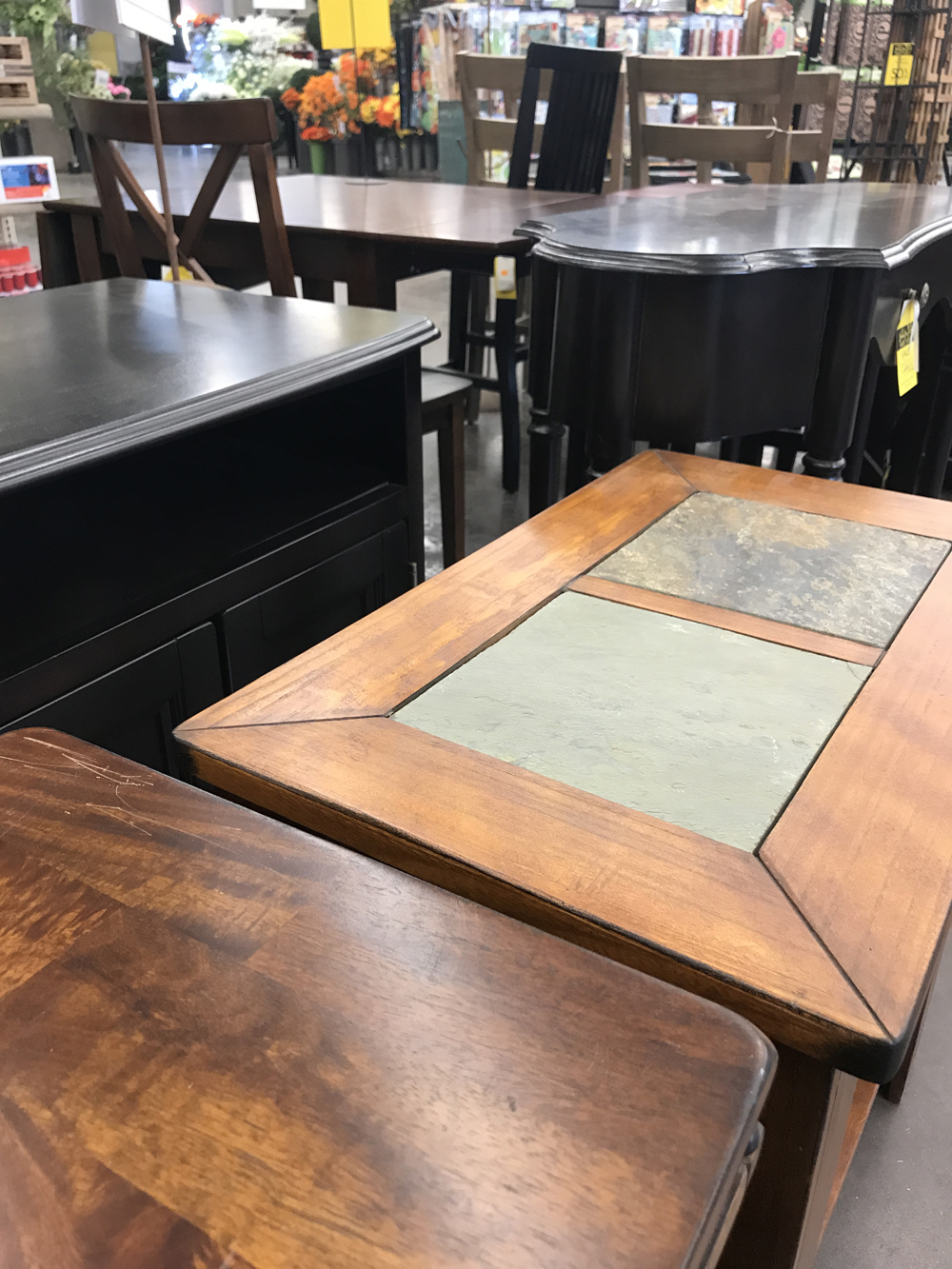 Furniture at Jeffrey Alans, 4 locations in Illinois & Indiana – 2017 July Summer Yard Sale – Selection will vary with each store having a unique mix of items to discover.