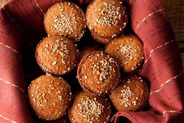 Pumpkin Muffins from www.windandwillow.com