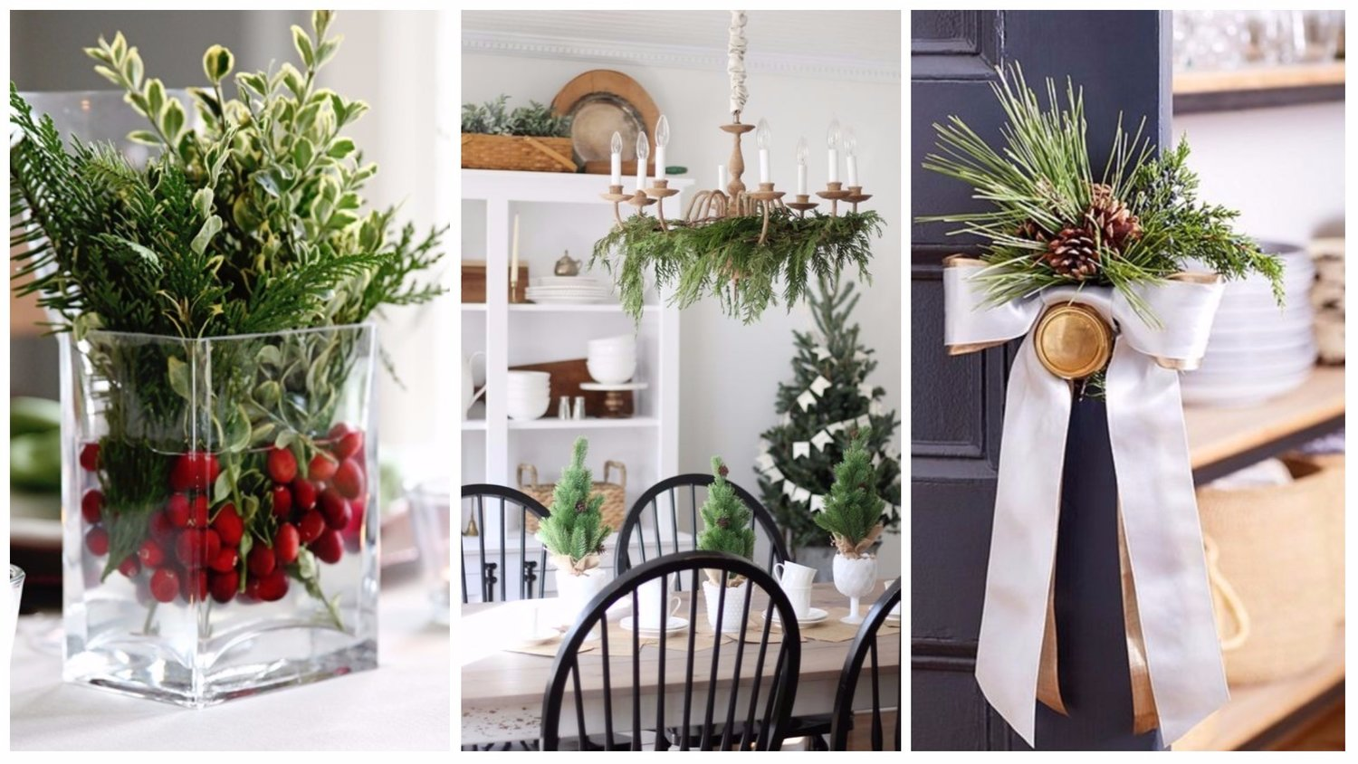 impressive easy ways to decorate indoors with live christmas greens - Christmas Greens