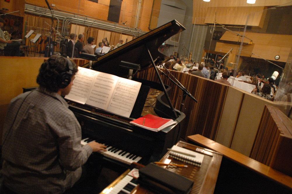 Bryan Pezzone, pianist extraordinaire recording
