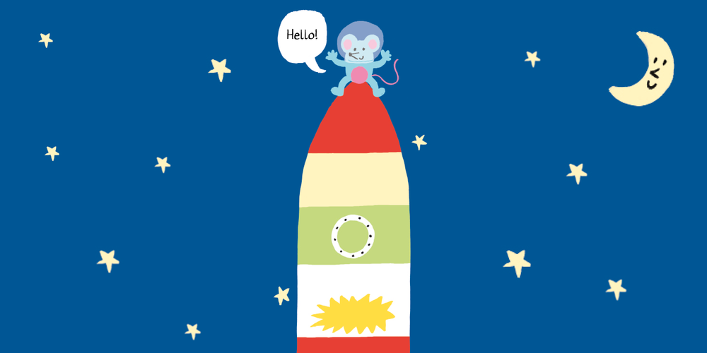 noisy rocket – hook book  illustrated by Eleonora Marton