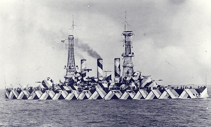 Acorazado USS Nebraska. Autor y fecha exacta de la fotografía desconocidos.