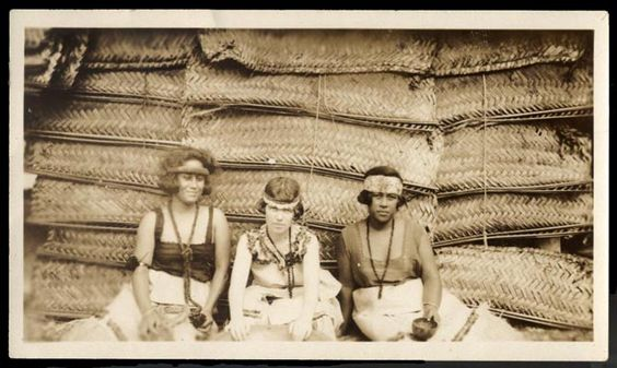 One of my favorite photographs ever taken, which I discovered at AMNH: Margaret Mead in Samoa, 1926 (Library of Congress).