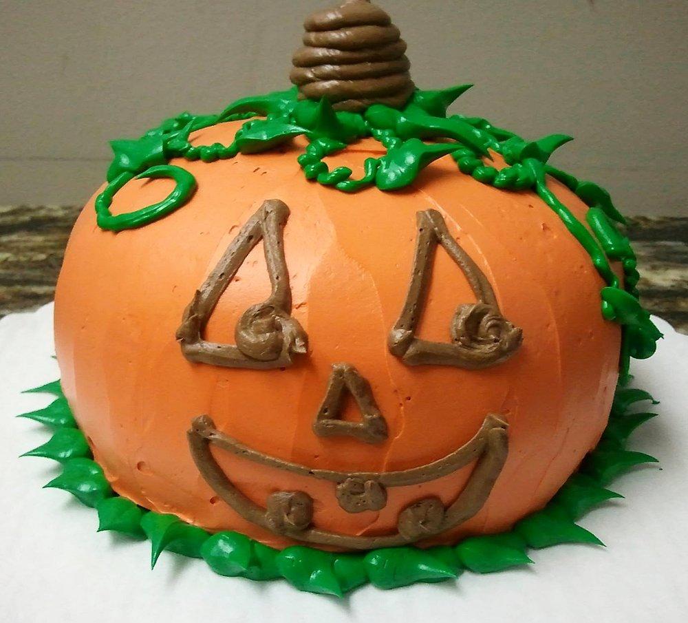 Jack 'O Lantern Cake