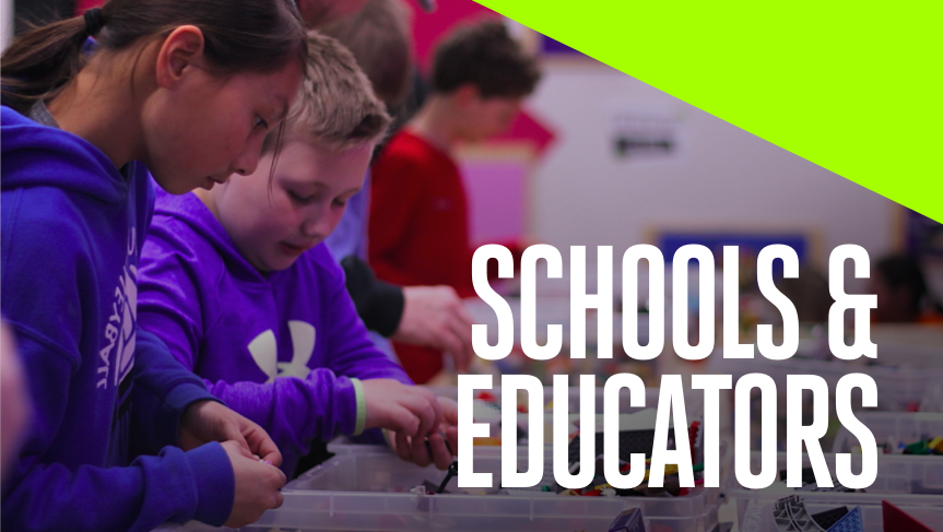We offer a variety of ways to help your students become more innovative, including hands-on field trips and outreach programs that come to you.   School Field Trips   KH Mobile Play Lab   LEGO® Challenge Lab