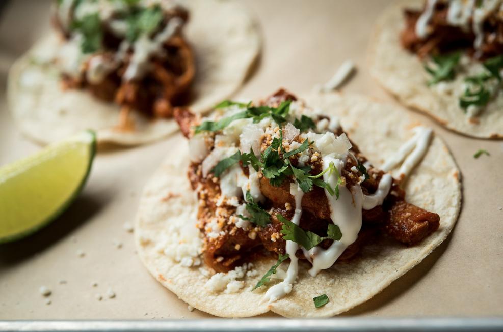 Chciken Tinga Tacos
