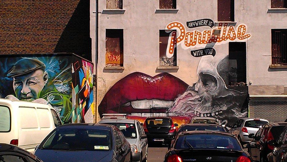 Tivoli Car Park Mural