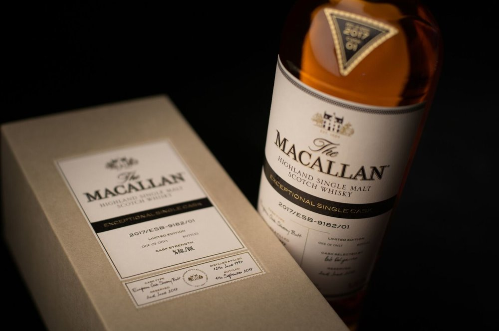 The Macallan. Exceptional Single Cask Range