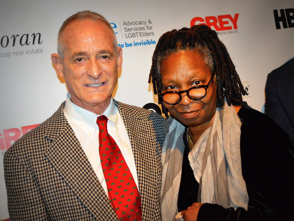 Robby Brown and Whoopi Goldberg