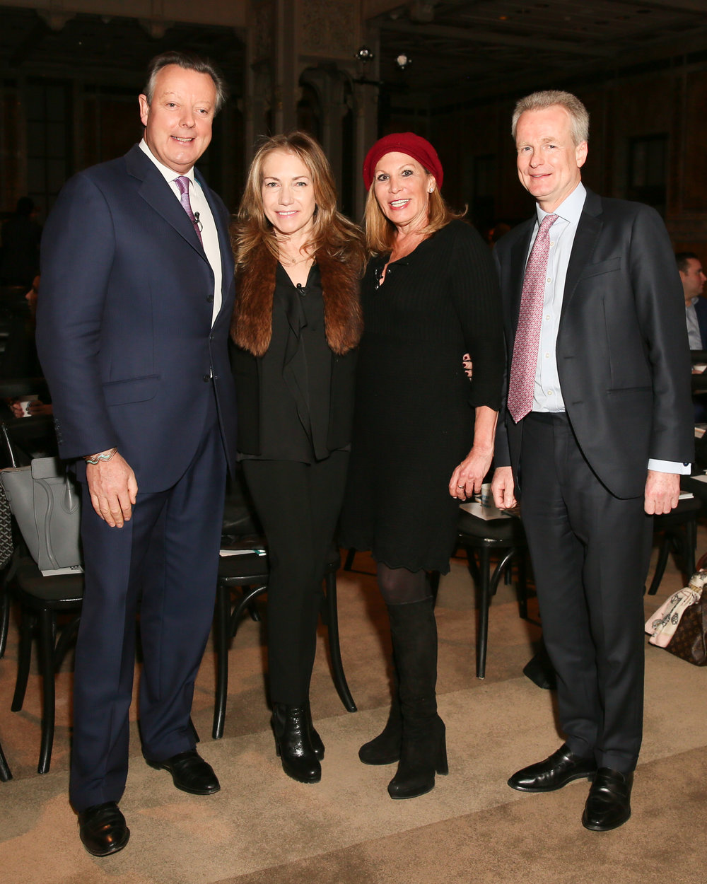 Lord Andrew Hay, Susan de Franca, Dottie Herman & Paddy Dring