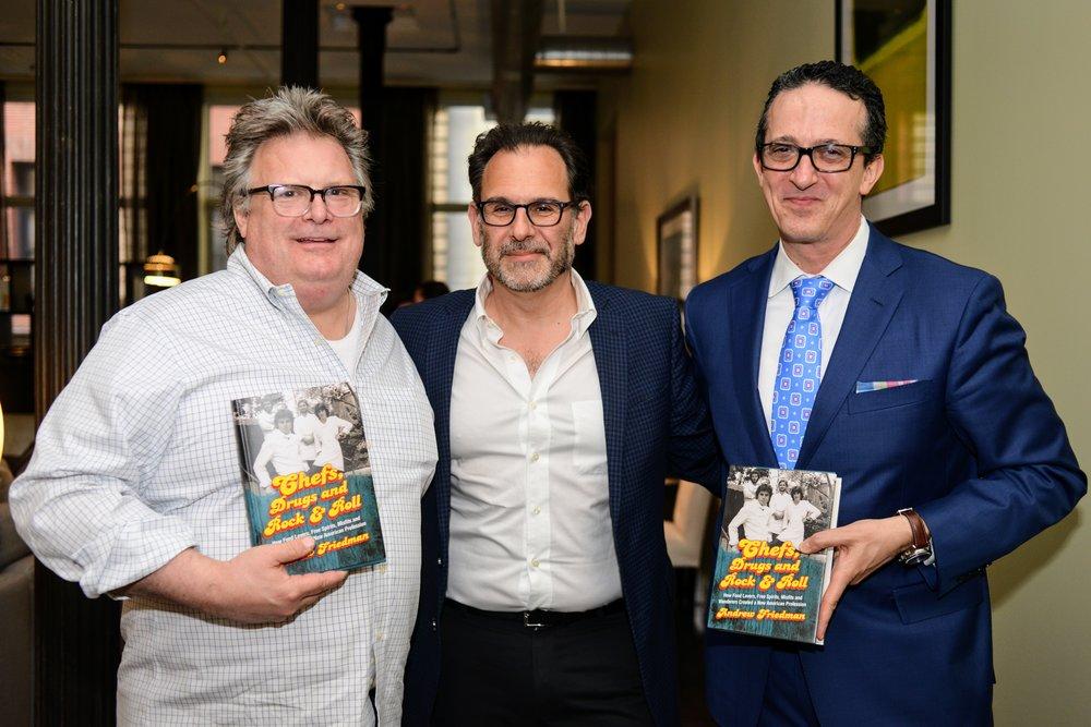 David Burke, Andrew Friedman, Paul Zweben