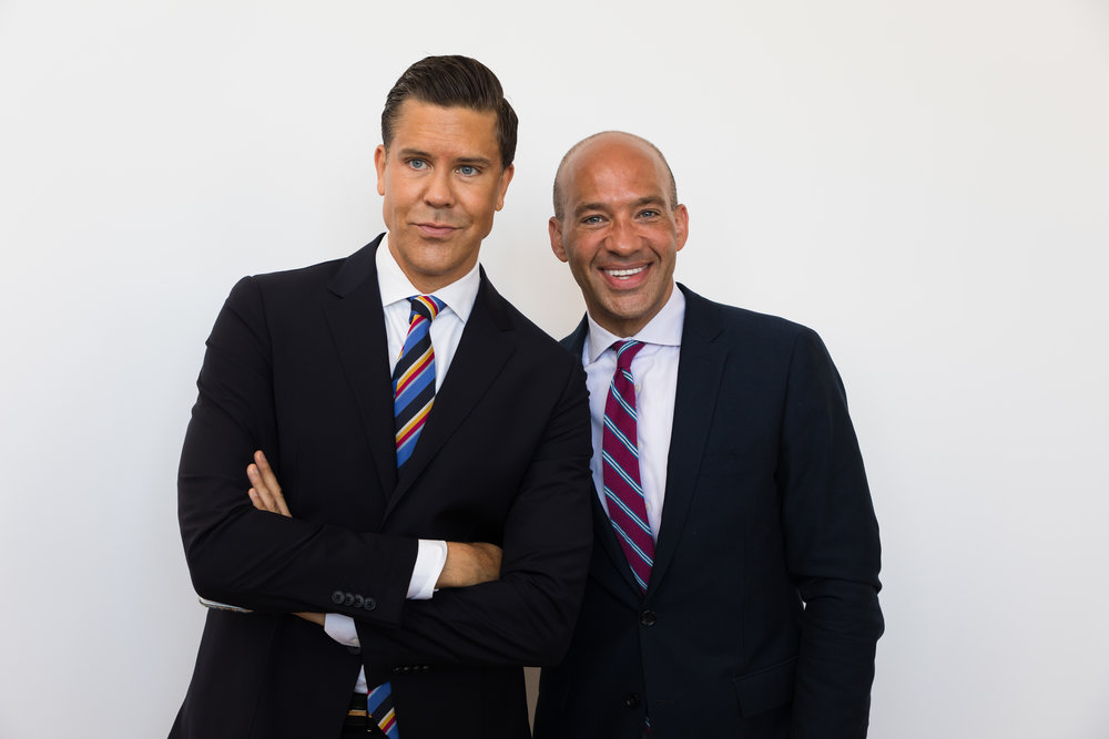 Fredrik Eklund and John Gomes
