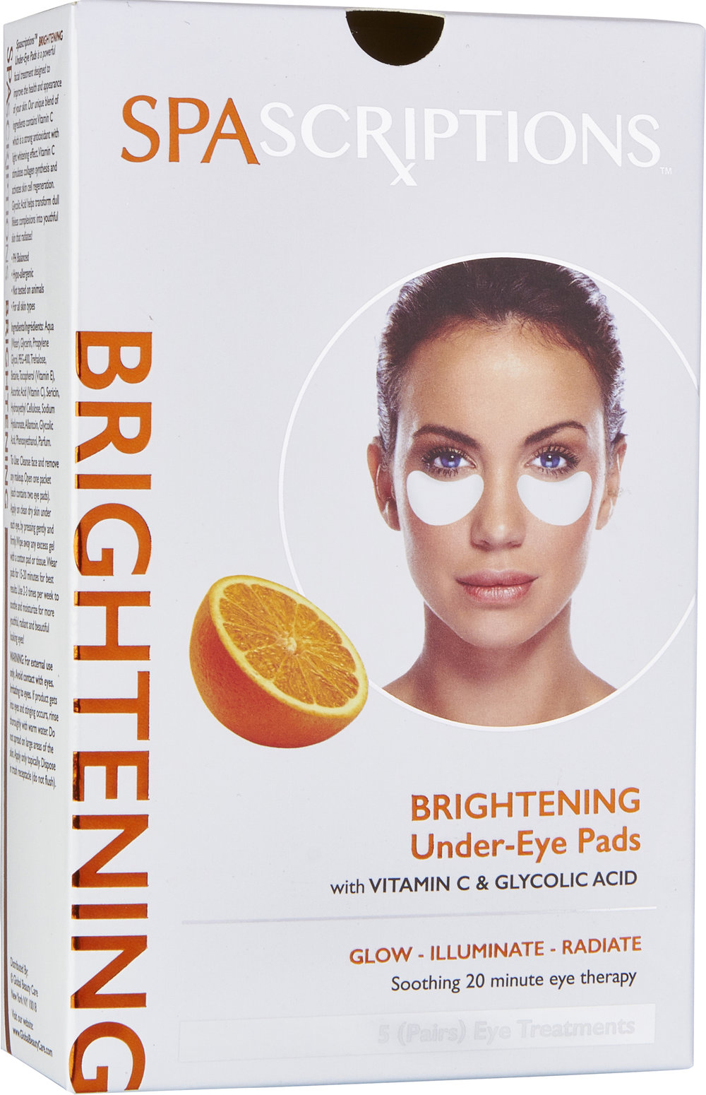 Spascriptions Brightening Under Eye Pads