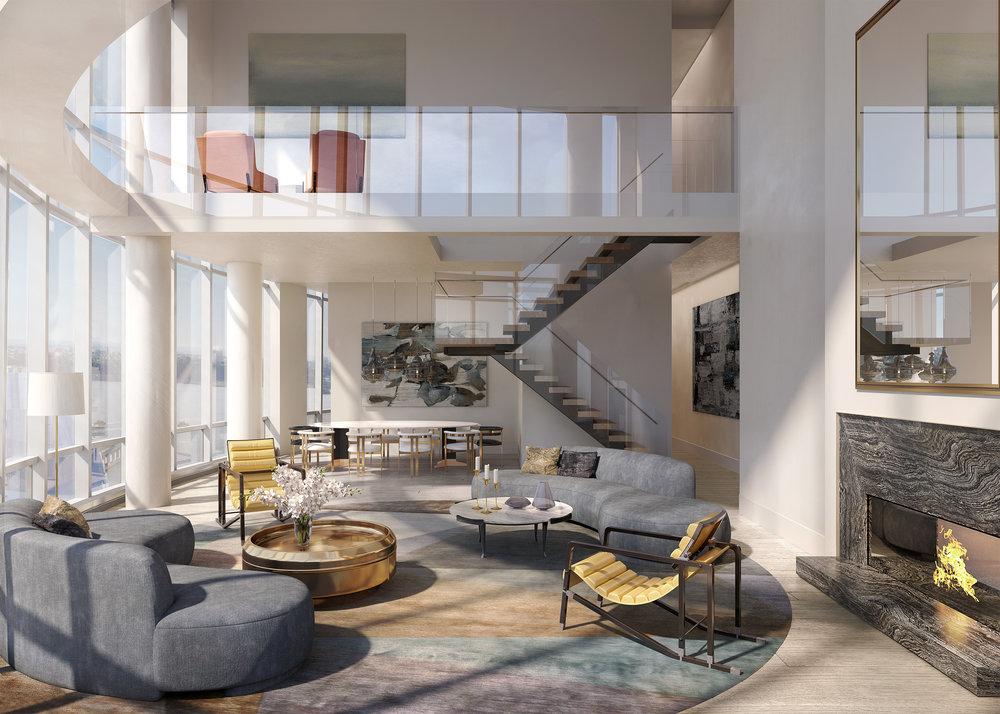 Fifteen Hudson Yards Penthouse 88B