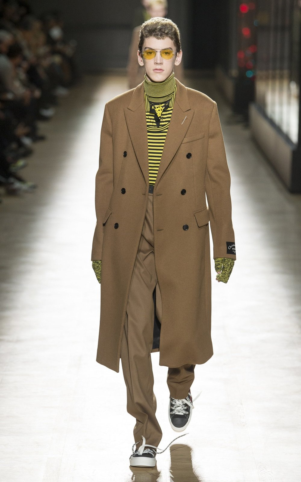 Image credit: Telegraph, Caption: Dior Homme