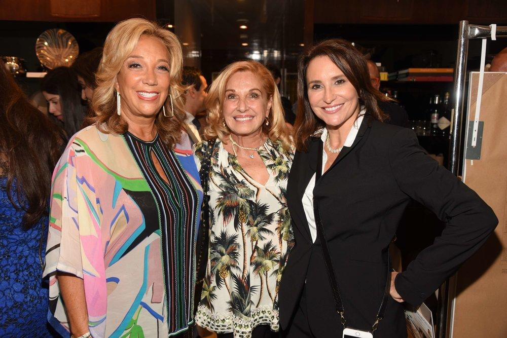 Denise Rich, Michele Rella, Carole Cristt