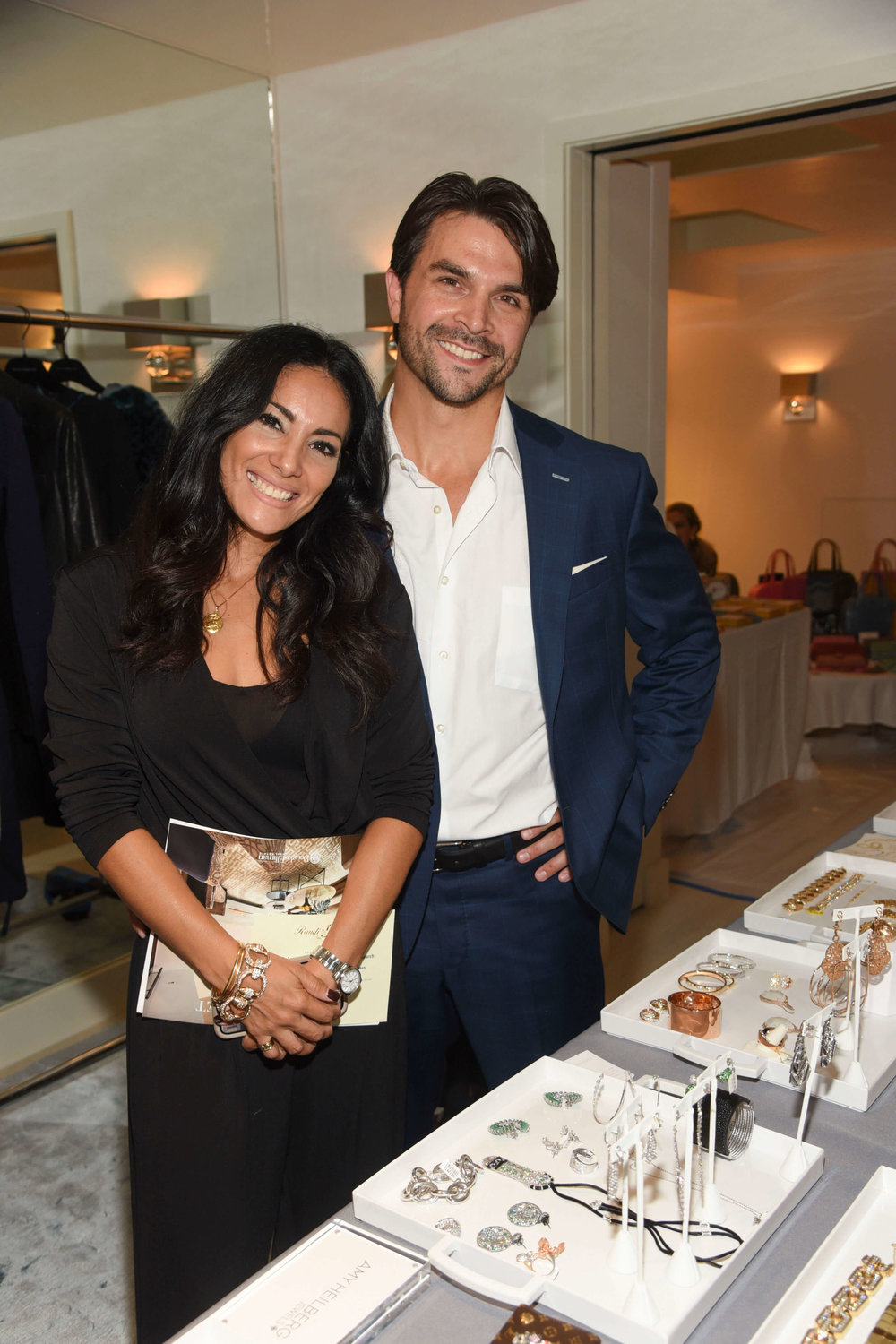 Pia and Christopher Michelsen