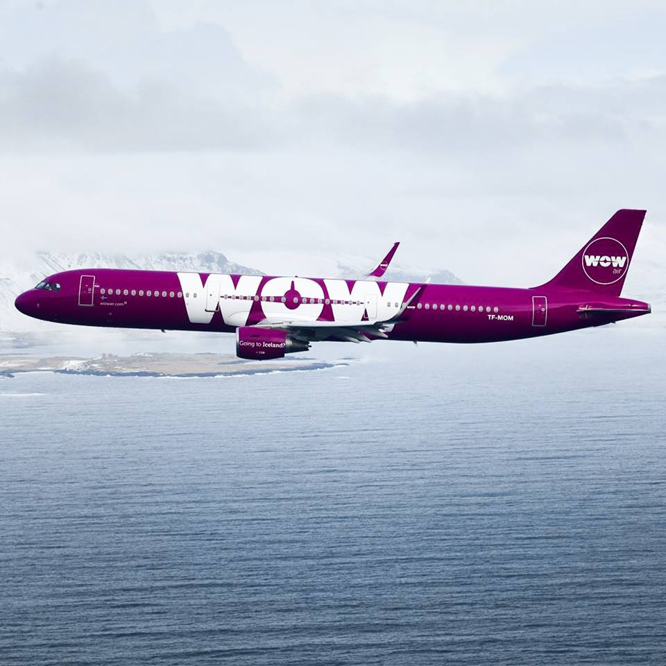 Photo via Wow Air