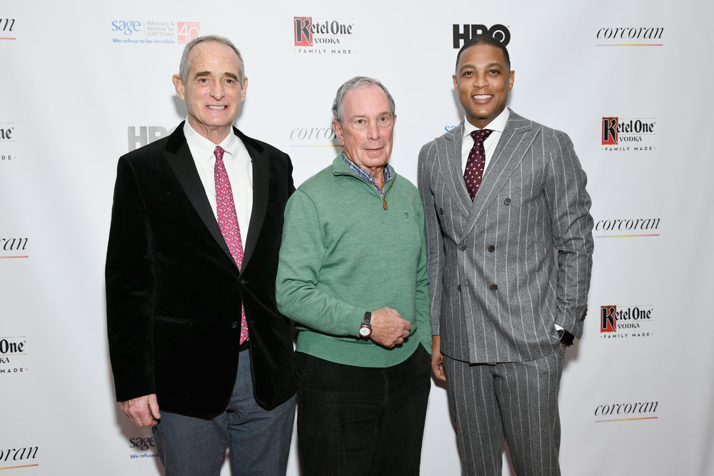 Robby Browne, Michael Bloomberg, Don Lemon