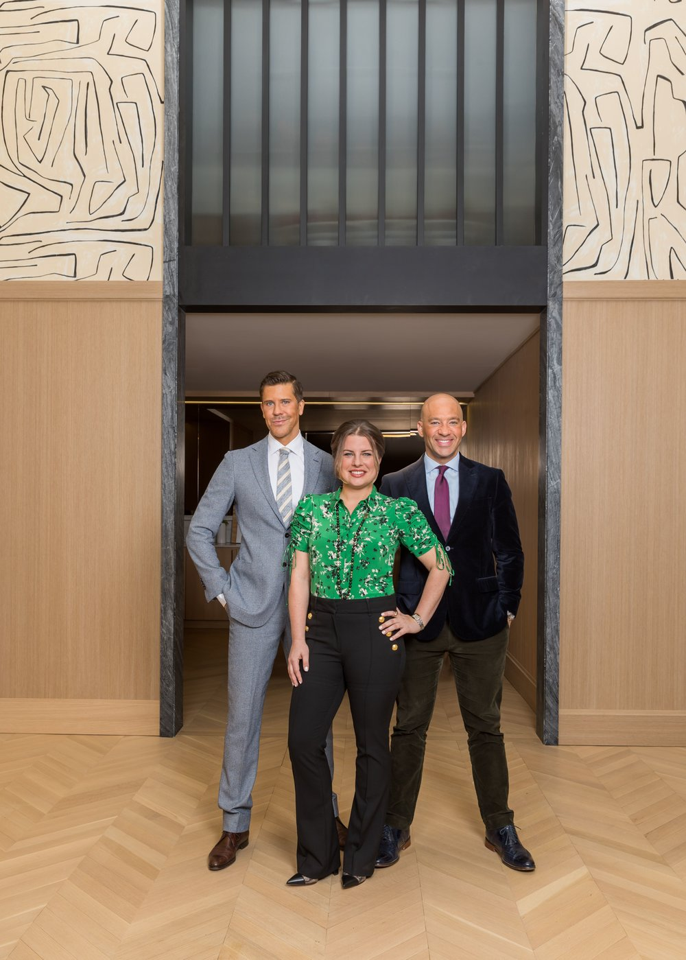 Fredrik Eklund, Jessica Peters, and John Gomes