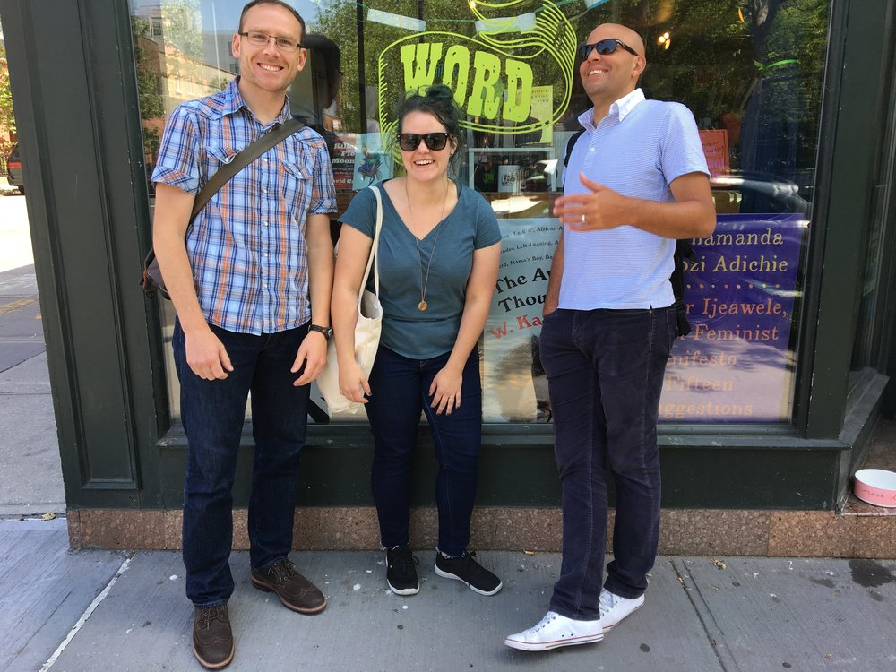 The Solid Squad at Word in Greenpoint.