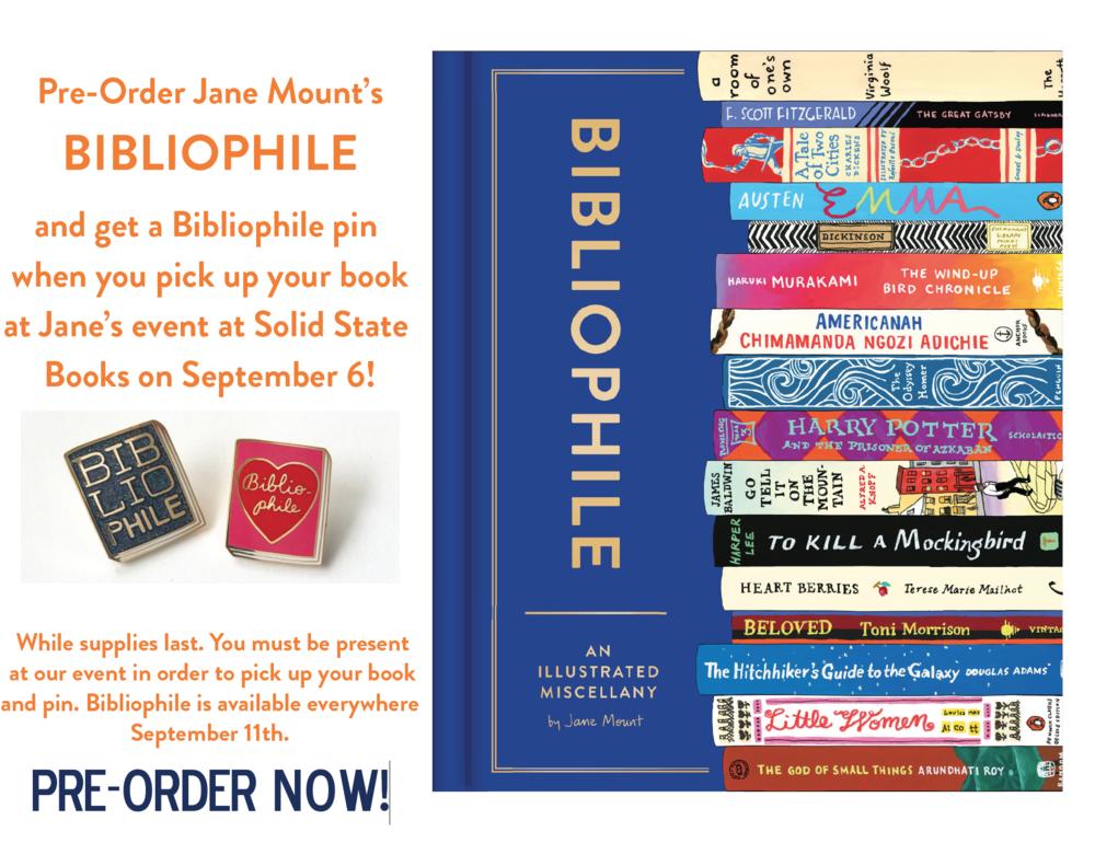 Bibliophile pre-order