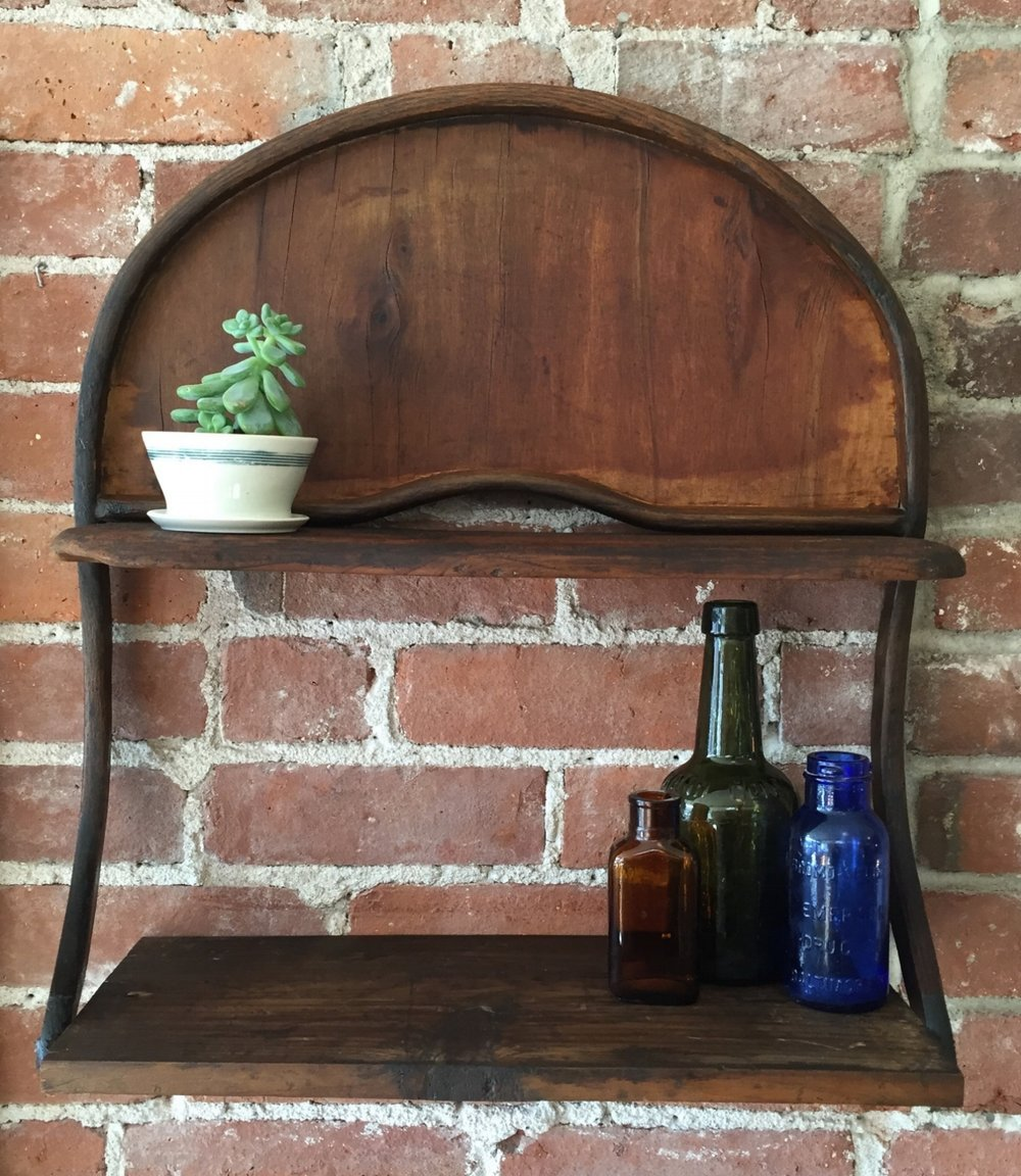Victorian High Chair Wall Shelf