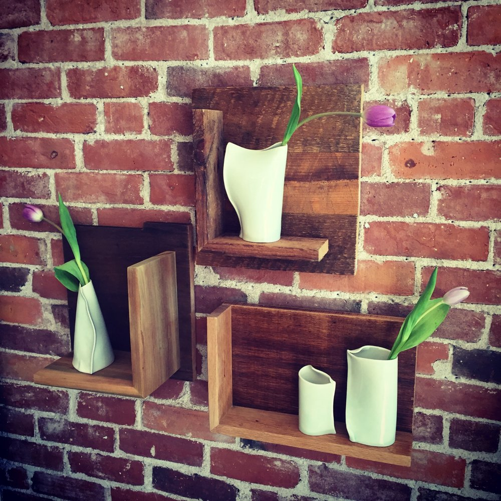 Reclaimed Wall Ledges