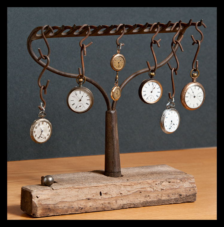 Custom Pocket Watch Display