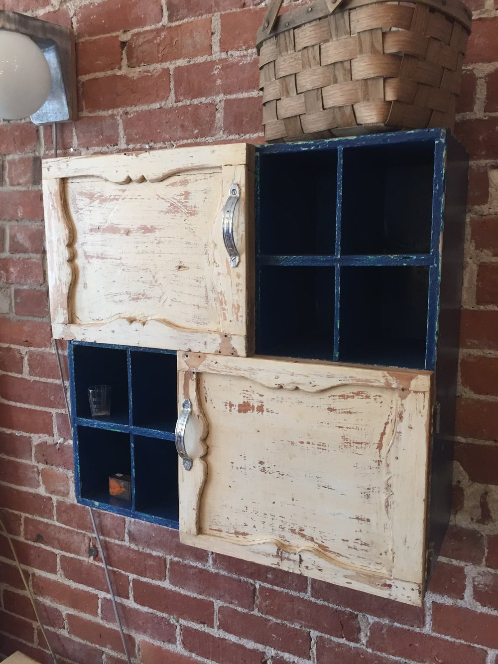 Wall Cubby Cabinet