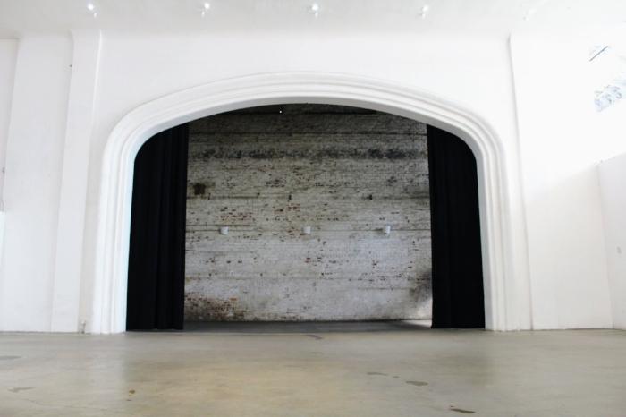 25-foot wide original proscenium