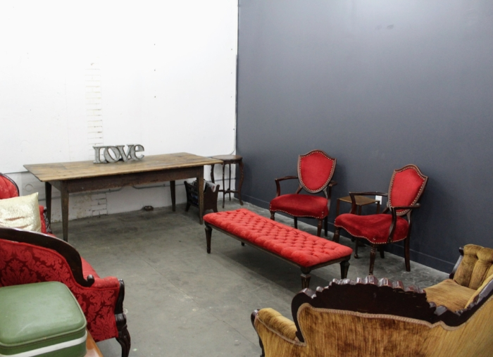 Green Room area