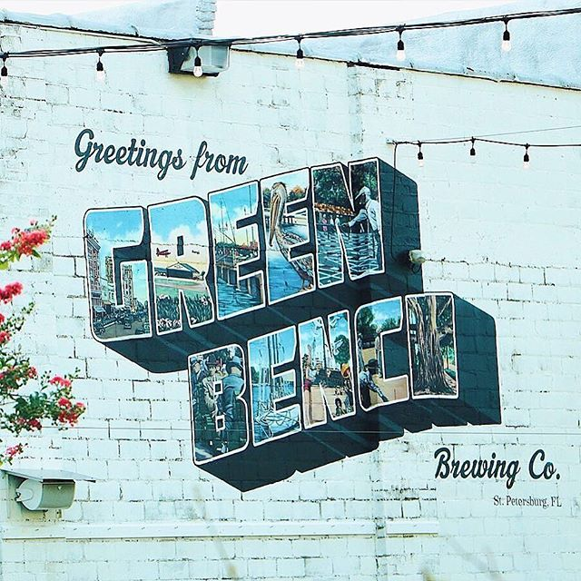 You had us at craft beer and outdoor market 🍻😍 🛍 ICYMI @greenbenchbrewing is celebrating their 5 year anniversary Saturday (congrats y'all!) and it's also the launch of St. Pete @indieflea Street Market! Festivities start at 11am complete with over 100+ artisans and vendors, food trucks, mobile shops, and an outdoor vintage lounge and indie booth sponsored by @old.st.pete✨ Hope everyone enjoys their weekend!✌️ .⠀ 📷: @thefloridatravelgirl