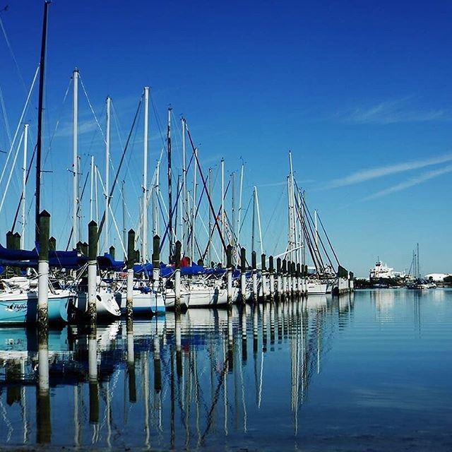 It's smooth sailing in Tampa Bay ⛵️☀️ . Got any favorite boating spots? Restaurants or places to anchor?  Let us know below! ⬇️ . 📷: @matthew.m99
